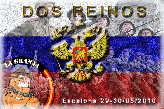 29/05/10. DOS REINOS. 1ª parte: EL SECUESTRO. Partida abierta. La Granja. Dos_re10